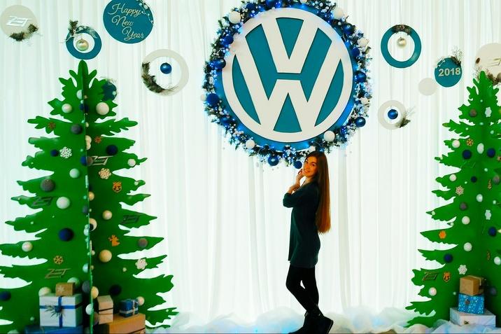 Фотозона VW