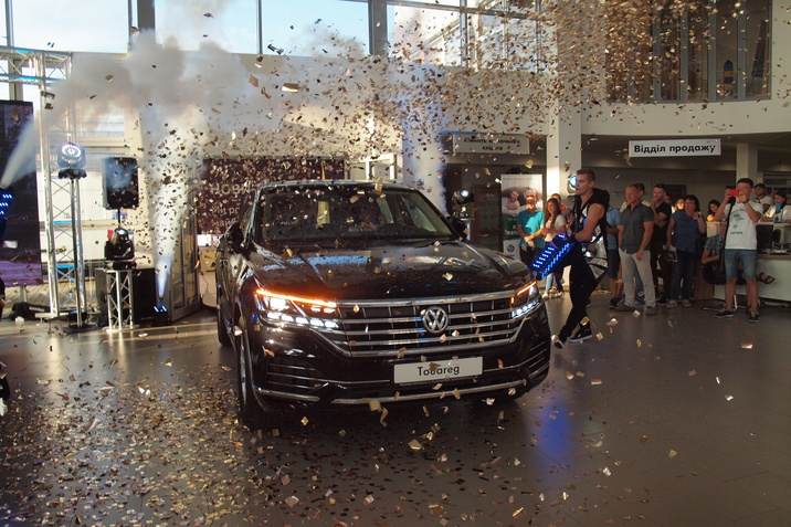 Презентація нового Volkswagen Touareg у Мукачеві