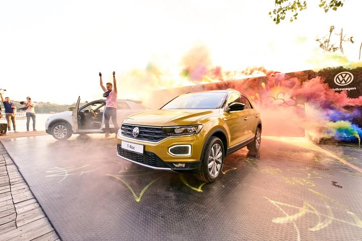 В Україні офіційно презентували  стильний та динамічний кросовер Volkswagen T-Roc.