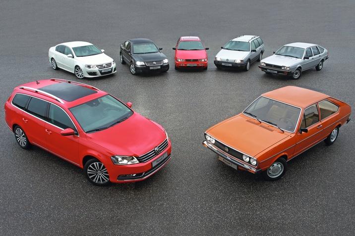 45 років VW Passat