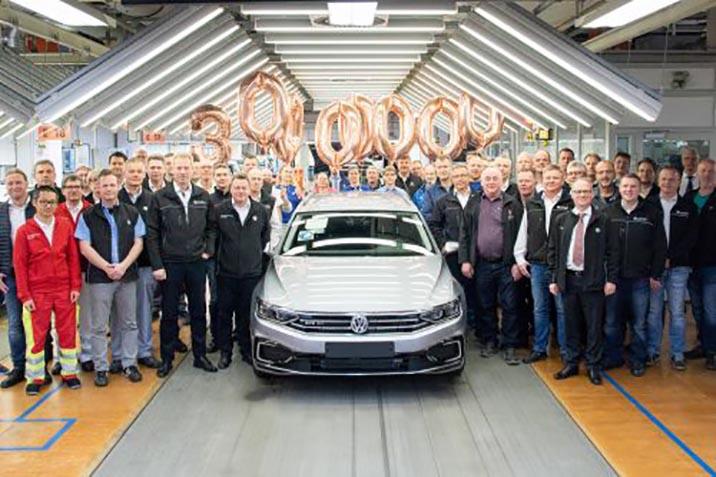 Виготовлено 30-мільйонний Volkswagen Passat